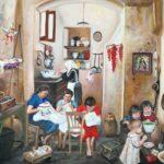 Nella sala mostre della Fondazione Sassi di Matera la personale della pittrice materana Maria Paolicelli
